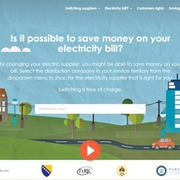 In a Regional First, Bosnia Launches Electricity Price Comparison Tool