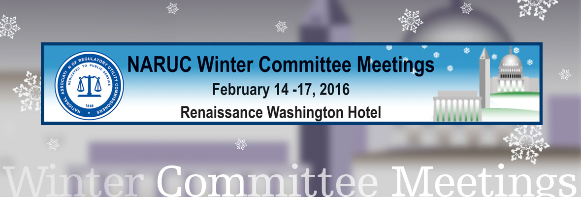 NARUC 2016 Winter Committee Meeting